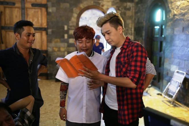 Ngo Kien Huy lam cao thu xe dap trong phim chieu Tet hinh anh 2
