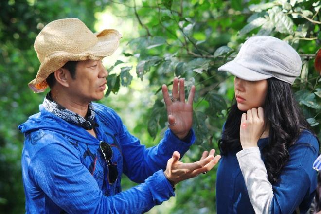 Vo chong Dustin Nguyen, BeBe Pham tinh cam o phim truong hinh anh 6