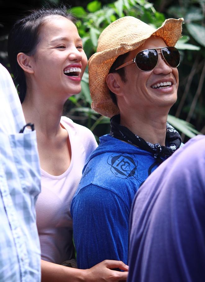 Vo chong Dustin Nguyen, BeBe Pham tinh cam o phim truong hinh anh 2