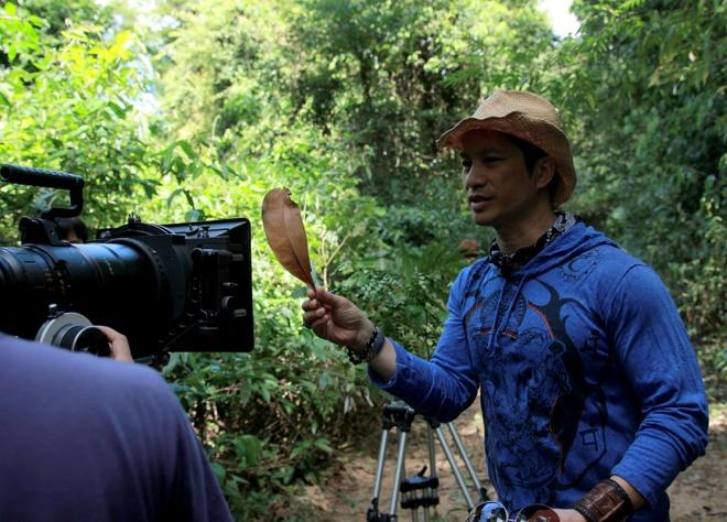 Vo chong Dustin Nguyen, BeBe Pham tinh cam o phim truong hinh anh 9