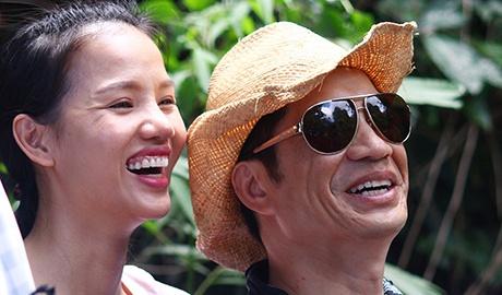 Vo chong Dustin Nguyen, BeBe Pham tinh cam o phim truong hinh anh