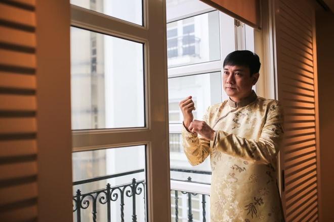 Dien vien Hoang Phuc dua mua lan vao le ruoc dau o Hue hinh anh 1