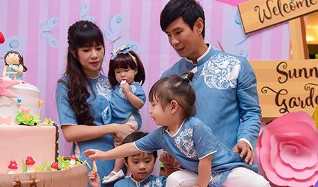 Ly Hai - Minh Ha lam tiec thoi noi cho con gai ut hinh anh