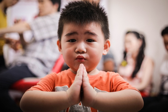Con trai 2 tuoi song ca cung NSUT Kim Tu Long hinh anh 6