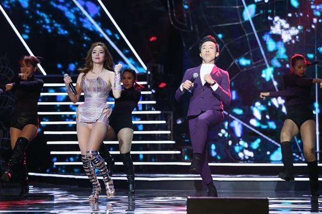 Tran Thanh - Minh Hang song ca Vi - Gio em da biet, hinh anh