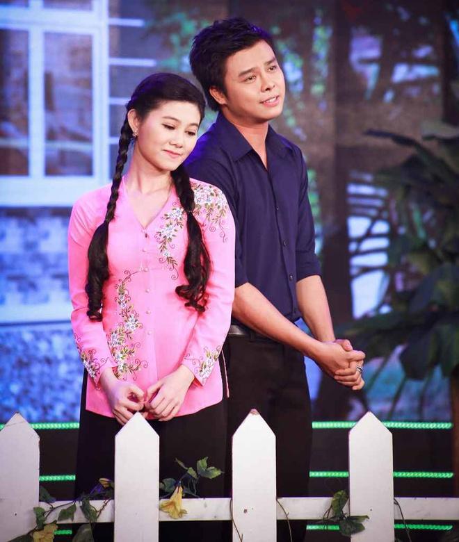 Ngoc Lan ngan NSUT Que Tran yeu Minh Lam trong tieu pham hai hinh anh 1