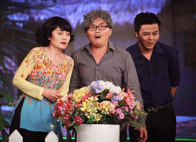 Ngoc Lan ngan NSUT Que Tran yeu Minh Lam trong tieu pham hai hinh anh 4