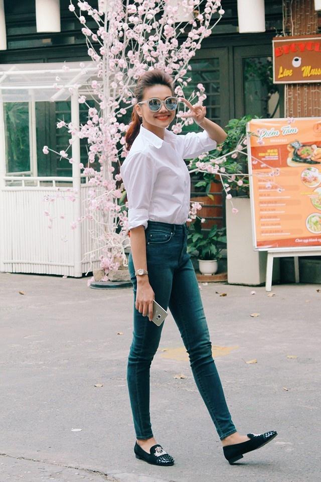 Street style an tuong cua sao Viet tuan qua hinh anh 4