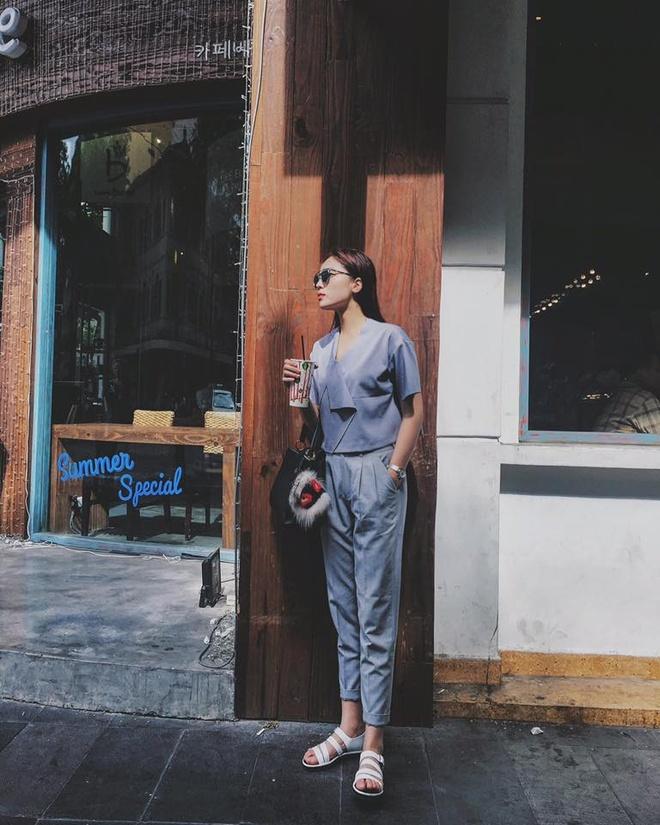 Street style an tuong cua sao Viet tuan qua hinh anh 7