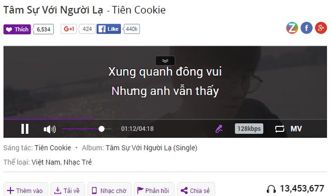 Erik roi vao the doi dau voi Tien Cookie tren BXH Zing hinh anh 2