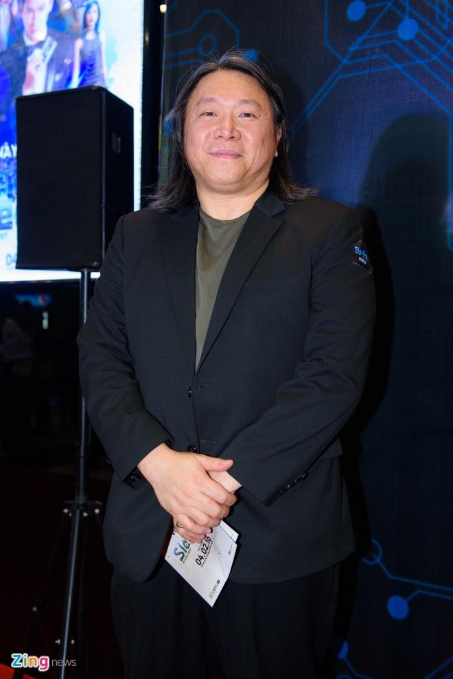 Johnny Tri Nguyen den du ra mat phim cua ban gai hinh anh 10