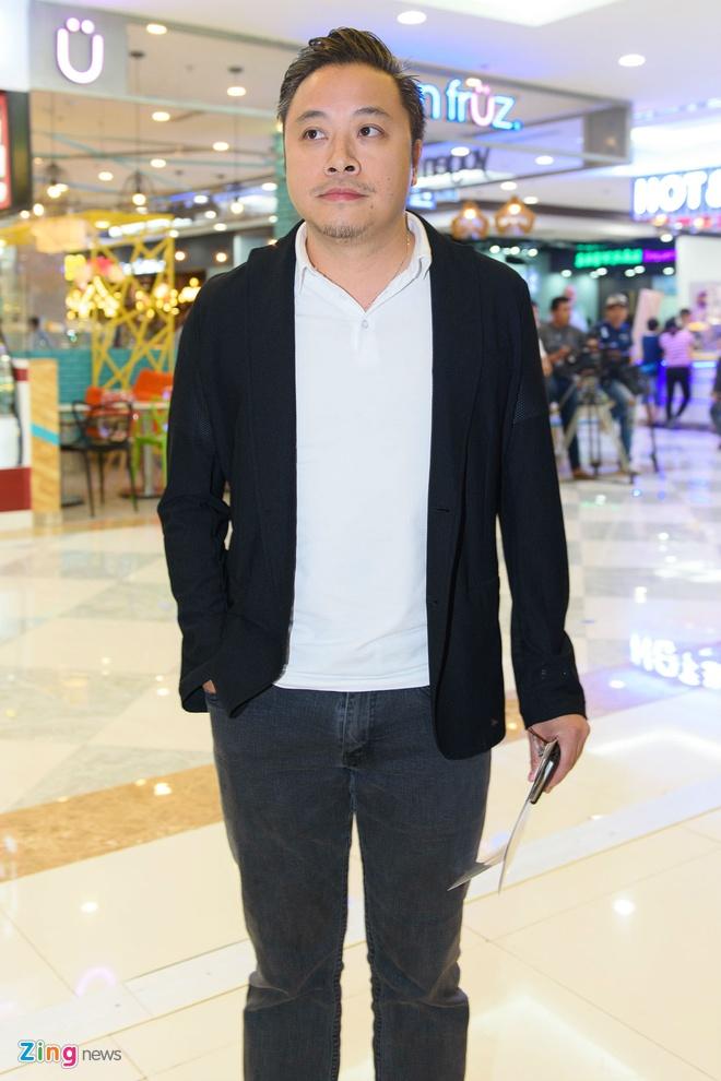 Johnny Tri Nguyen den du ra mat phim cua ban gai hinh anh 12
