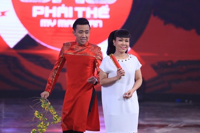 Tran Thanh che nguoi mau Le Trung Cuong luoi bieng hinh anh 1