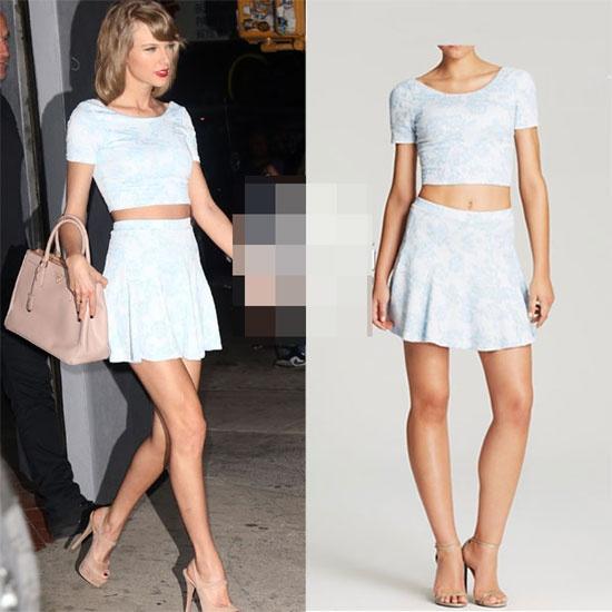 Taylor Swift dung hang hieu gia re van dep hinh anh 1