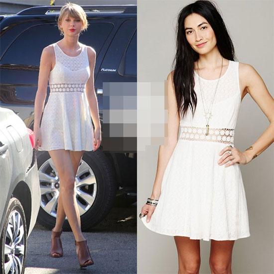 Taylor Swift dung hang hieu gia re van dep hinh anh 11