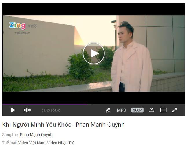MV moi cua Phan Manh Quynh soan ngoi Erik tren BXH Zing hinh anh 2