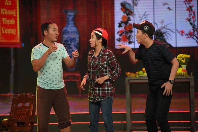 Oc Thanh Van an trom nha Chi Tai trong tieu pham hai hinh anh 3
