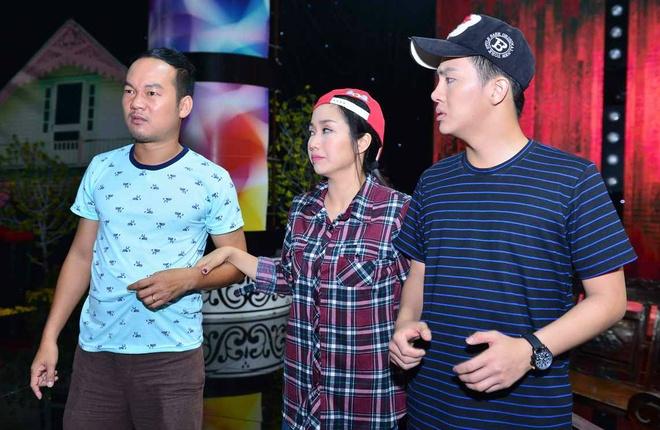 Oc Thanh Van an trom nha Chi Tai trong tieu pham hai hinh anh 6