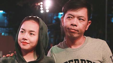 Dinh Ngoc Diep bi Charlie Nguyen hanh ha tren phim truong hinh anh