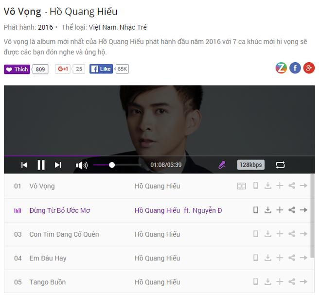 Ho Quang Hieu lay lai phong do voi album moi hinh anh 2