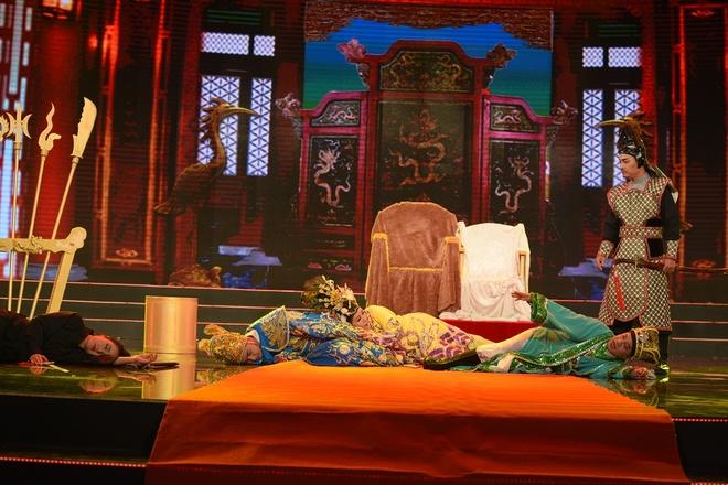 Hong Van tu nguoi ban ca tro thanh hoang hau trong tieu pham hinh anh 4