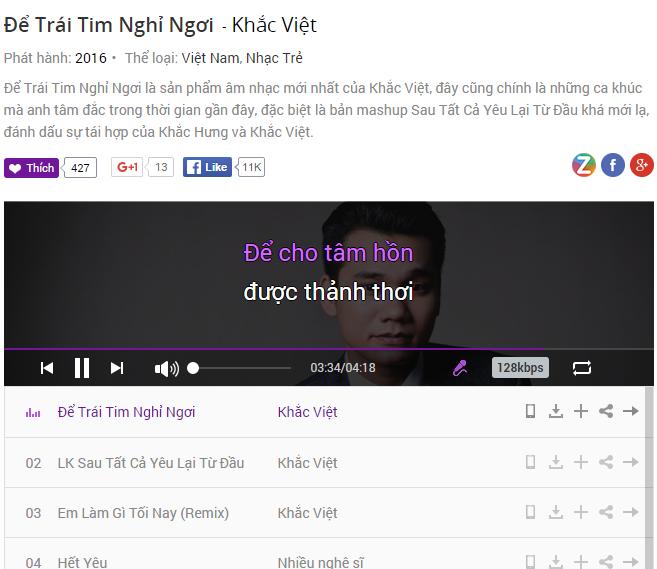 Album moi cua Le Quyen canh tranh Khac Viet tren BXH hinh anh 2