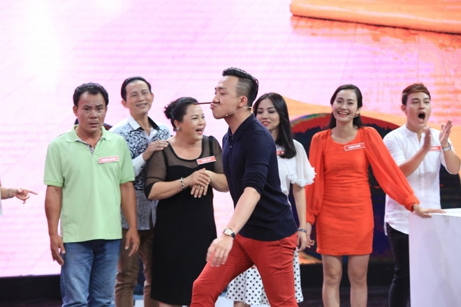 Viet Huong - Tran Thanh 'dan mat' nguoi choi game show hinh anh 4