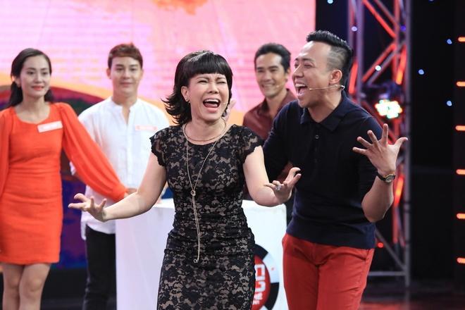Viet Huong - Tran Thanh 'dan mat' nguoi choi game show hinh anh 5