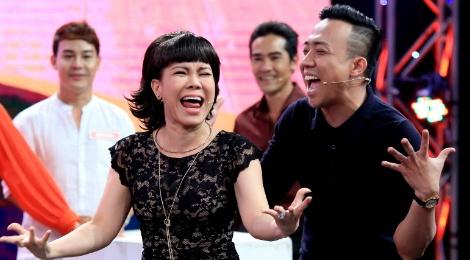 Viet Huong - Tran Thanh 'dan mat' nguoi choi game show hinh anh