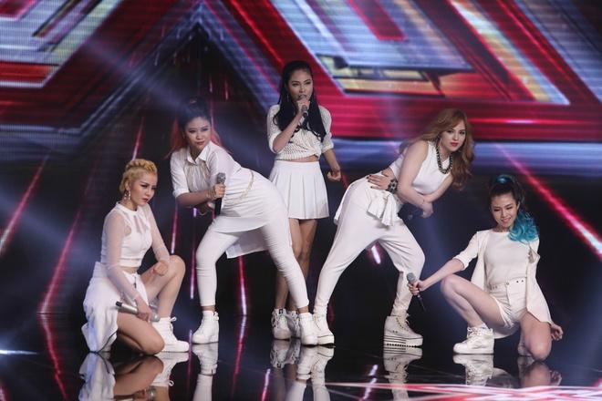 Nhom nhac nu X-Factor khien Thanh Lam boi roi vi gioi tinh hinh anh
