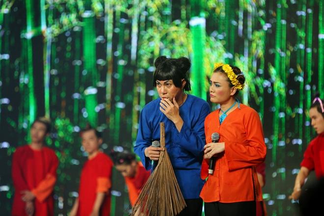 Hoai Linh khoc o Ngoi sao phuong Nam anh 8