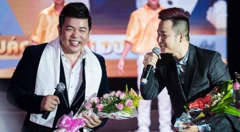 Quach Tuan Du doi dau Quang Le trong live show bolero hinh anh