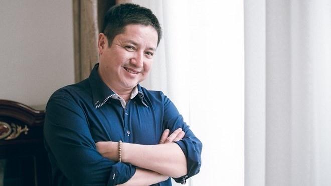 NSUT Chi Trung thay Minh Beo lam MC Luc lac vang hinh anh