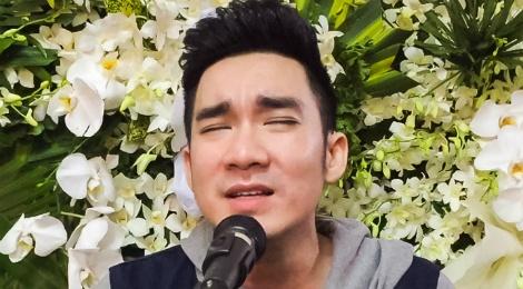 Quang Ha bat khoc khi hat nhac cua Nguyen Anh 9 hinh anh