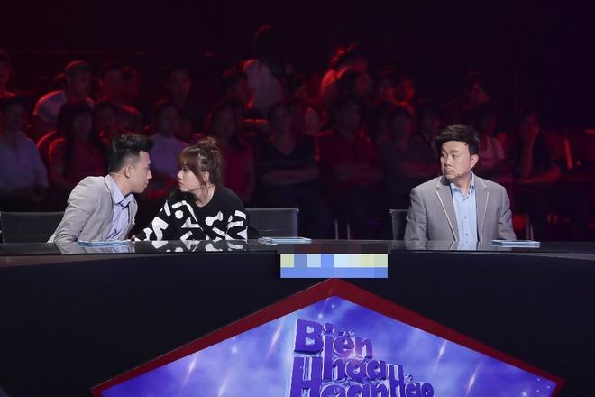 Tran Thanh benh vuc Hari Won khi ngoi ghe nong game show hinh anh 4