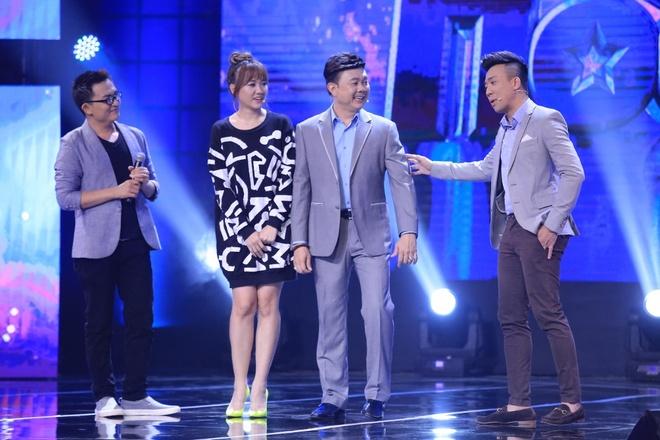 Tran Thanh benh vuc Hari Won khi ngoi ghe nong game show hinh anh 6