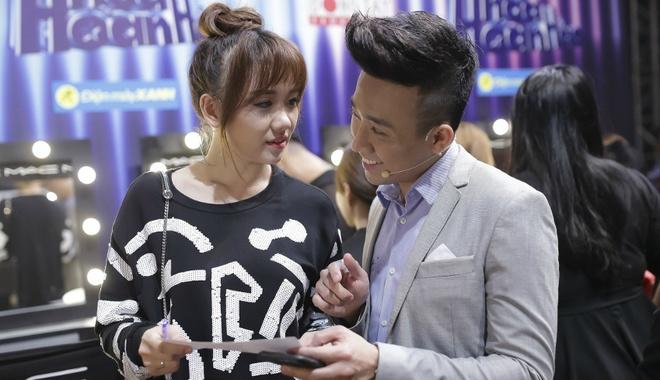 Tran Thanh benh vuc Hari Won hinh anh
