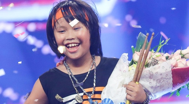 Than dong danh trong 9 tuoi dang quang Vietnam's Got Talent hinh anh