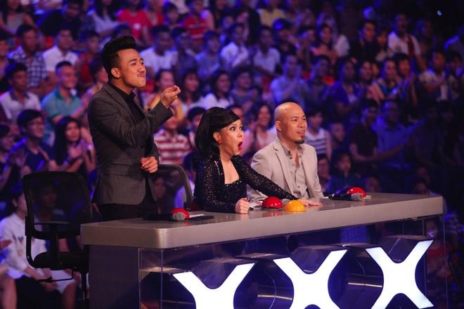 Tran Thanh cho xem ai pham sai lam trong dem Gala Got Talent hinh anh 2