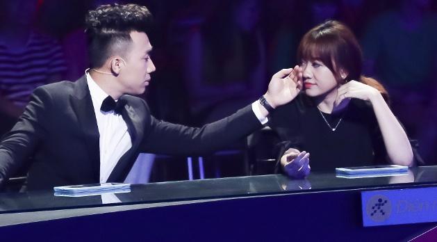 Hari Won doa danh Tran Thanh hinh anh