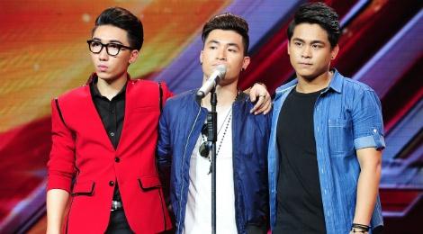Tranh tai don nam X Factor nhat nhoa, kem hap dan hinh anh