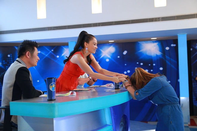 Co gai Philippines gay an tuong o Vietnam Idol hinh anh 2