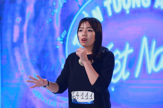 Co gai Philippines gay an tuong o Vietnam Idol hinh anh 12