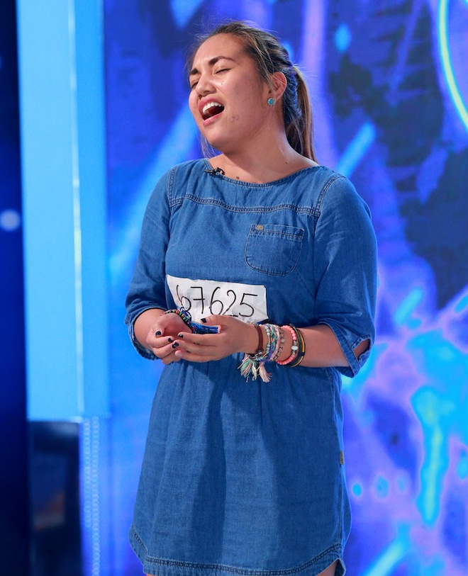 Co gai Philippines gay an tuong o Vietnam Idol hinh anh 1