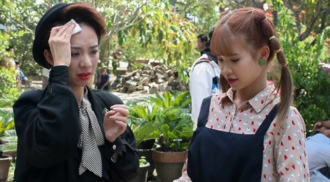 Thu Trang ke chuyen bi nhat ma khi quay phim o Da Lat hinh anh