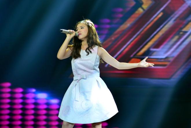 Nu sinh Minh Nhu, Truong Kieu Diem toa sang o X Factor hinh anh 1