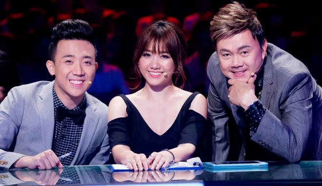 Tran Thanh cham soc 'ban sao cua Hari Won' o cuoc thi hat hinh anh 5