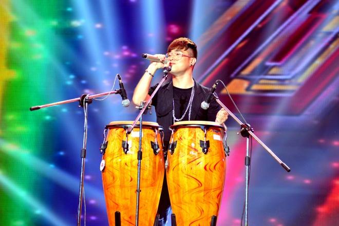 Thi sinh doi Tung Duong nhat nhoa giua cac doi thu X Factor hinh anh 4