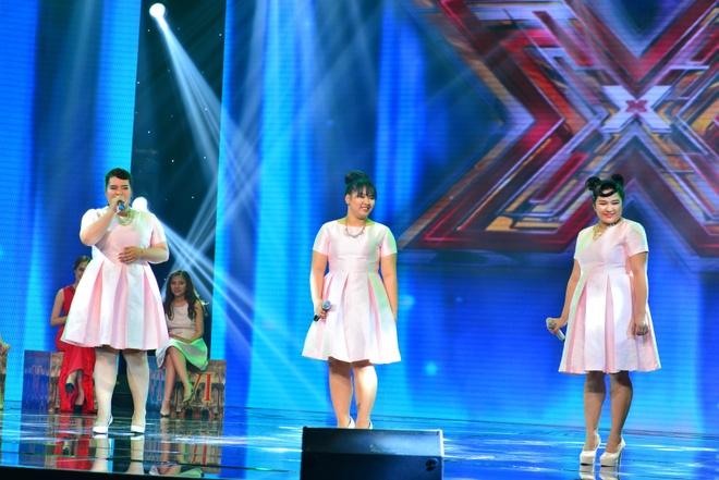 Thi sinh doi Tung Duong nhat nhoa giua cac doi thu X Factor hinh anh 15