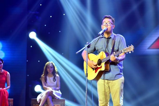 Thi sinh doi Tung Duong nhat nhoa giua cac doi thu X Factor hinh anh 6